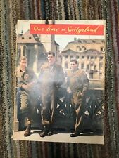 Our Leave in Switzerland, WW2 U.S. Soldiers on Leave 1945-1946, 200 Photos