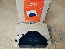 Auerswald COMpact 2206 USB, ISDN Telefonanlage, technisch einwandfrei
