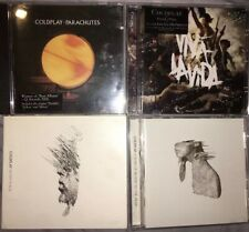 COLDPLAY JOB LOT 4 CD ALBUMS/SINGLE -  Rush of blood, Parachutes , In My Place