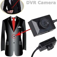Mini Clothes Button Hidden Camera Motion Detection DV Spy Video DVR Security Cam