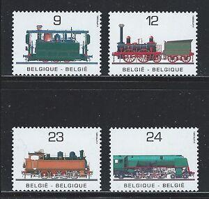 Belgium topic Trains Railways Tramway Locomotives Railroads MNH. SALE !