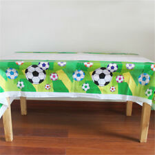 Disposable Plastic TableCloth Football Table Cover For Kids Birthday FO ^G