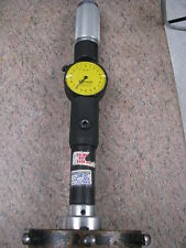 STANDARD DIAL BORE GAGE- 4 EXTENTIONS -SIZE 6(RANGE 153-250MM X .002MM)-ITEM SCE