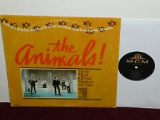 Orig '65 THE ANIMALS U.S. Lp ANIMAL TRACKS MGM #E-4305 Mono VG + +