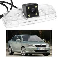 4 LED CCD Rearview Camera Reverse Parking Backup Fit for 2008-2012 Skoda Octavia