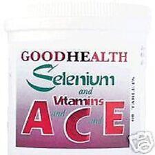 SELENIUM und Vitamin A,C,E. 360 Tablets
