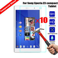Wholesale 10x Tempered Glass Screen Protector Film For Sony Tab Xperia Z2 Z3 Z4