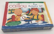 Caillou Fun activity set - 4 Coloring & Activity Books - Sealed! Brand New