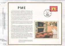 Feuillet CEF Belgique n°365  PME  cachet 24-9-83  Bruxelles