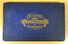 Views Scottish Lakes District Souvenir Victorian Travel Book 26 Engravings c1860