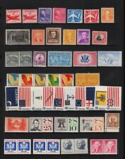 U.S. 48 Older Mint, NH stamps