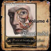 Tarot cards old anatomy surgery struments science medicine pharmacy apothecary 4