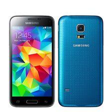 "Original SmartPhone Samsung Galaxy S5 MINI  SM-G800F Factory Unlocked 4.5"" Blue"