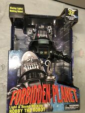 More details for forbidden planet robby the robot light & sound unopened.