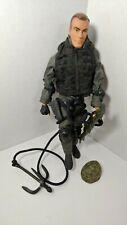 "Hasbro 2001 Modern GI Joe 12"" action figure SWAT team ? grappling hook weapons"