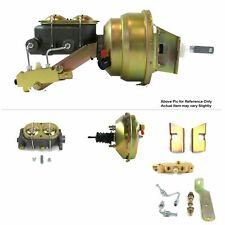 "1960-62 Chevy Truck FW Mount Power 9"" Single Brake Booster Kit LS3 LS Disc/Drum"