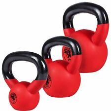 GORILLA SPORTS Kettlebell Competition 8-40 kg Stahl Wettkampf Kugelhantel in 8 Gewichtsvarianten Farben