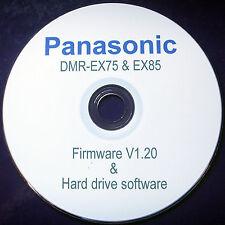Panasonic DVD HDD 160gb Hard Drive Recorder Dmr-ex75 Silver HDMI Freeview DVB