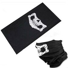 Cool Multi Function Ski Motorcycle Biker Tube Scarf Skull Face Mask Snood Neck
