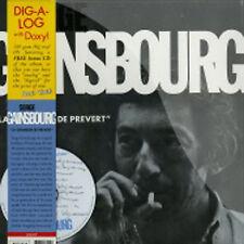 Serge Gainsbourg – La Chanson De Prévert LP & CD Doxy