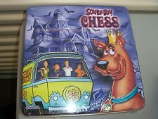 Scooby-Doo Chess Set TIN *RARE* *NEW*  (SDT-N3)