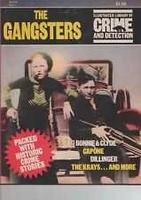 1973 THE GANGSTERS ILLUSTRATED LIBRARY OF CRIME AND DETECTION #1 - CAPONE/BONNIE