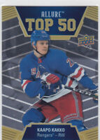 19/20 ALLURE...KAAPO KAKKO...TOP 50...# T50-10...RANGERS..FREE COMBINED SHIP