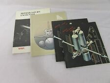 Lot of 4: NASA Space Books- Pioneer Saturn, Space Shuttle at Work, + 2