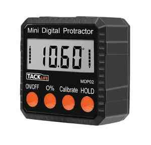 Mini LCD Level Box Angle Gauge Digital Protractor Finder Magnetic Base MDP02 New
