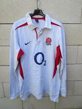 VINTAGE Maillot rugby ANGLETERRE Nike ENGLAND shirt collector XXL coton