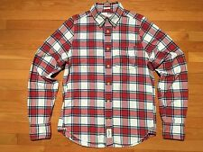 Abercrombie & Fitch Men's Flannel Shirt, Size Medium, Muscle Fit - EUC - O25DQ12