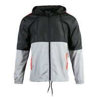Men's Running Cycling Outdoor Performance Light Breathable Windbreaker Jacket XL