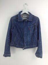 Girls levi engineered jeans blue denim jacket size S stock No.R32
