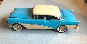 Vintage original plastic model kit built Revell 1/32 1956 Buick Century car