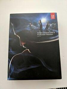 Adobe Photoshop CS6 Extended + Illustrator Mac German Full Version Vat Box