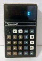 VINTAGE PANASONIC MODEL JE-8501U CALCULATOR.