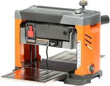 "RIDGID Bench Planer 3-Blade Cutterhead Dust Port 13"" Thickness 120-Volt 15 Amp"