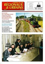 CHEMINS de FER RÉGIONAUX et URBAINS - N° 283 (2001 - 1) (FACS - CFRU) (Train)