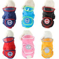 Waterproof raincoat for pet small dog cat Chihuahua  Shih Tzu puppy pets cloths