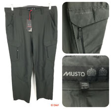 Musto Essential UV Fast Dry Trousers 38 - Carbon Regular Leg Cargo Pants SE0781