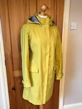 SEASALT - Kellifray - Raincoat Mac - Hay (Yellow) - Size 10-Sample - BNWT