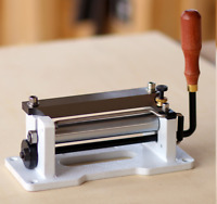 HOT Manual leather skiver Leather Paring Machine Leather splitter+blades 809BP