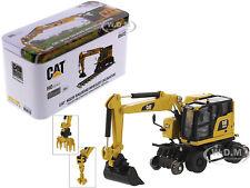 CAT CATERPILLAR M323F RAILROAD EXCAVATOR 1/87 (HO) SCALE DIECAST MASTERS 85612