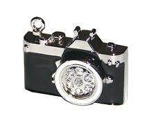 Kamera Cam aus Metall mit Steinen - USB Stick 8 GB Speicher / USB Flash Drive