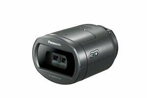 Panasonic 3D Conversion Lens VW-CLT1-H for Camcorder metallic grey VWCLT1 NEW