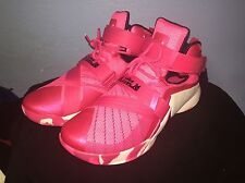 NIKE LEBRON SOLDIER IX MEN SHOES NEW SIZE 13 PINK WHITE 749417-601 Breast Cancer