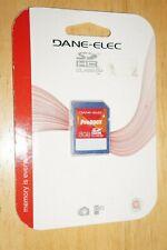 Dane-Elec Proline 200X 8GB SD Card SDHC Class 10 Camera Flash Memory Card New!