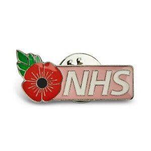 NHS PIN BADGE - NHS, NURSE, DOCTOR, PORTER, CARER. PHYSIO, OT, HCA, Pink