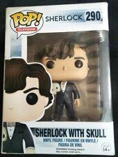 Pop Television Sherlock with Skull 290 Funko Pop Vinyl Very Good
