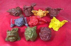 Mini Boglins - Mixed Lot - Ten (10) Sculpts - Ships from USA!